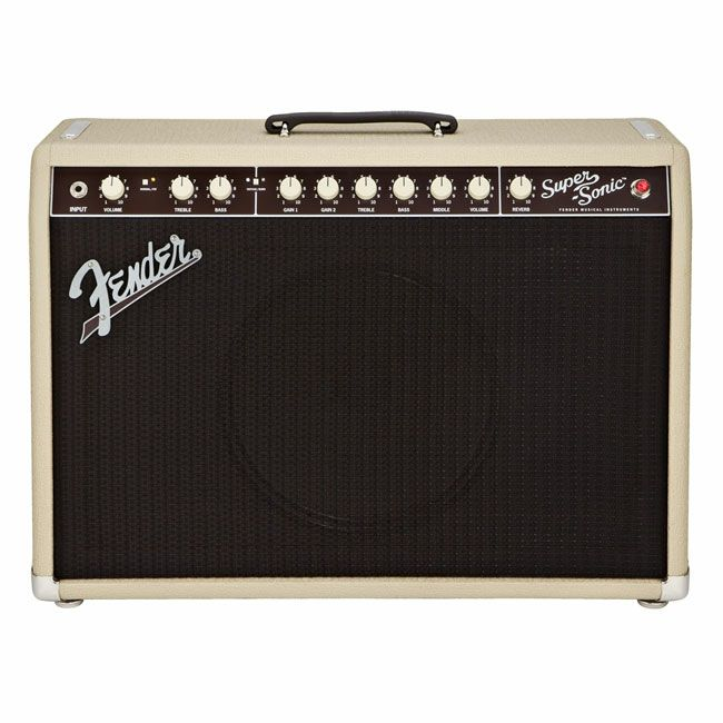[Outlet] Fender  Super-Sonic 22 Combo,  Blonde and Oxbloodの商品画像1
