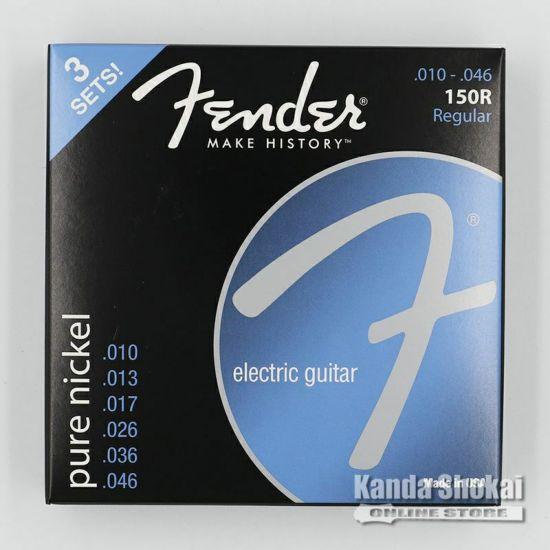 [Outlet] Fender 3-Pack Original Pure Nickel 150 Guitar Strings, 150R (.010-.046)の商品画像1