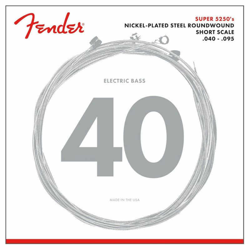 [Outlet] Fender  5250 Short Scale Bass Strings, 5250XL (.040-.095)の商品画像1