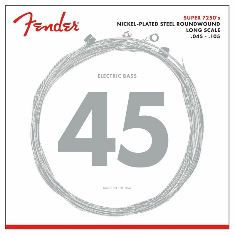 [Outlet] Fender 7250 Bass Strings, 7250M (.045-.105)の商品画像1