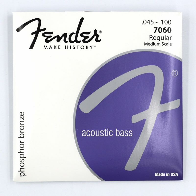[Outlet] Fender 7060 Phosphor Bronze Acoustic Bass Strings (.045-.100)の商品画像1