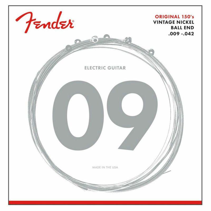 [Outlet] Fender Original Pure Nickel 150L Guitar Strings (.009-.042)の商品画像1