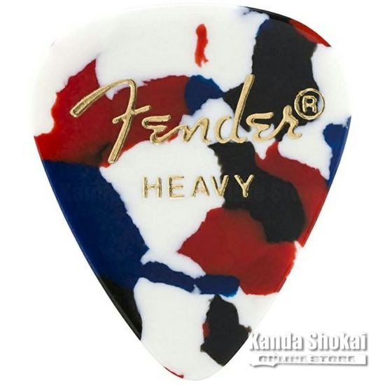 [Outlet] Fender 351 Shape Picks Confetti, Heavy - 144 Count Packの商品画像1
