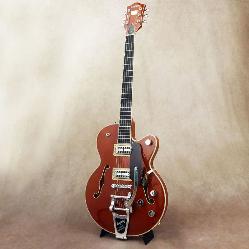 Gretsch G6659T Players Edition Broadkaster Jr. Center Block Single-Cut with String-Thru Bigsby, Roundup Orange [S/N: JT20041742]の商品画像1