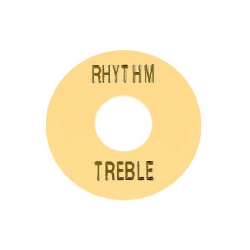 Allparts AP-0663-028 Cream Plastic Rhythm/Treble Ring [6553]の商品画像1