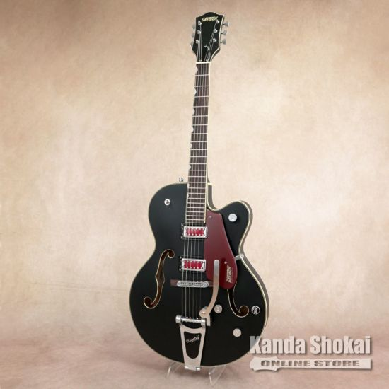 "Gretsch G5410T Electromatic ""Rat Rod"" Hollow Body Single-Cut with Bigsby, Matte Black [S/N: KS20033169]の商品画像1"