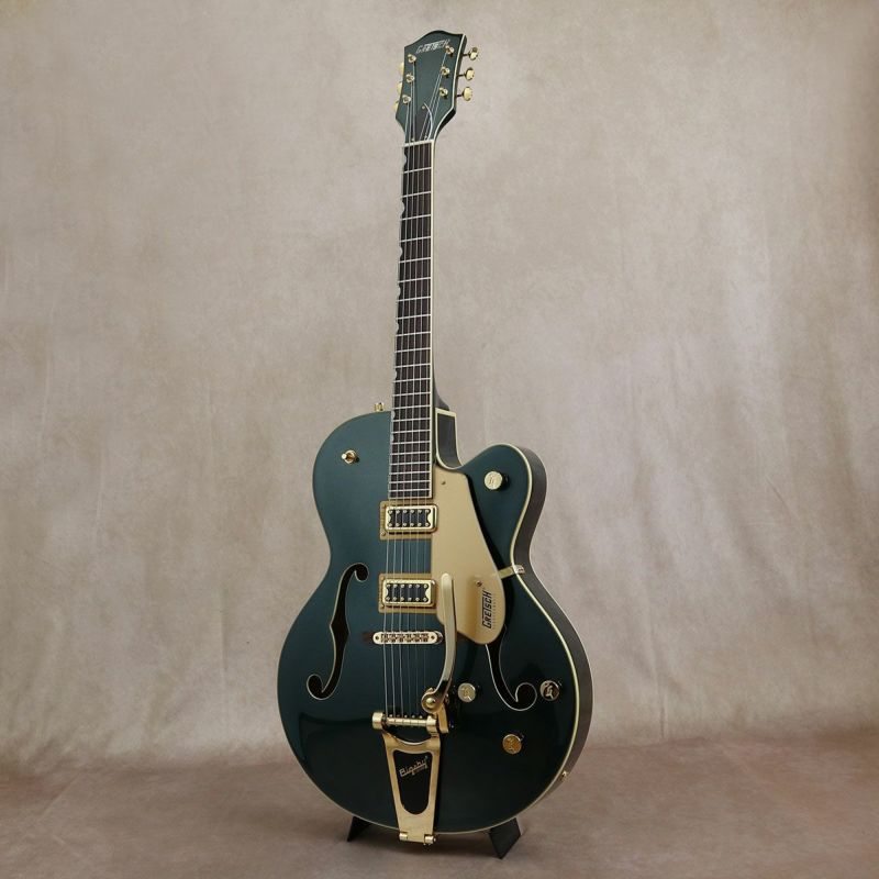 Gretsch G5420TG Limited Edition Electromatic Hollow Body Single-Cut with Bigsby, Cadillac Green [S/N: KS20033136]の商品画像1