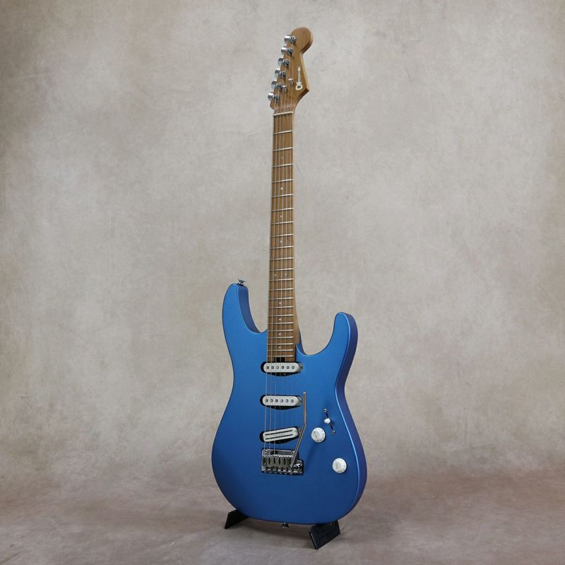 Charvel Pro-Mod Dinky DK22 SSS 2PT CM, Electric Blue [S/N: MC20501398]の商品画像1