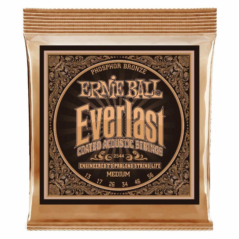 Ernie Ball Everlast Medium Coated Phosphor Bronze 13-56 [#2544]の商品画像1