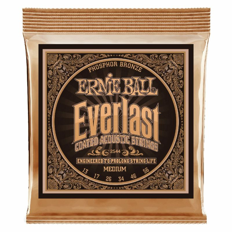Ernie Ball Everlast Medium Coated Phosphor Bronze 13-56 [#2544]の商品画像1