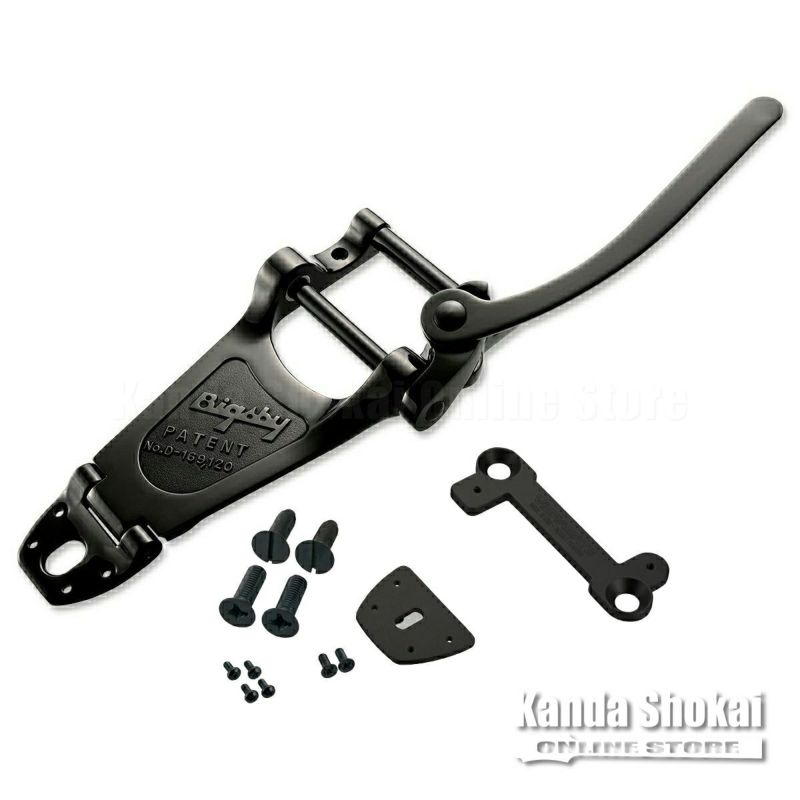 Bigsby B7 Vibrato Black & VIBRAMATE V7-LP Mounting Kit Black Setの商品画像1