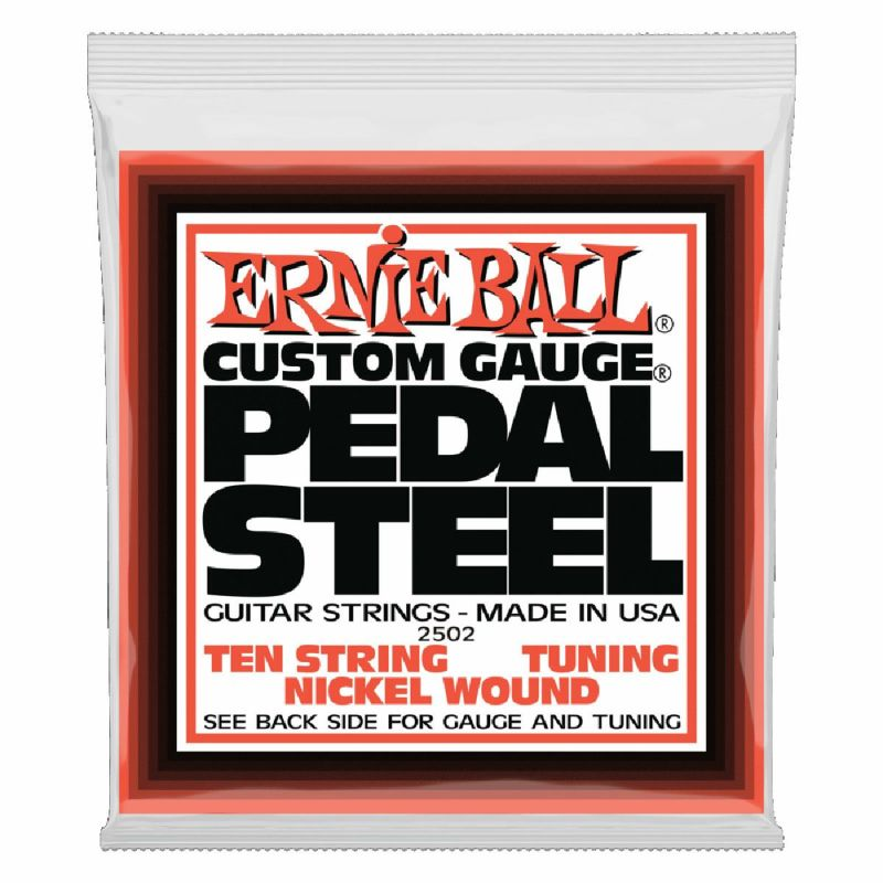 Ernie Ball Pedal Steel 10-String E9 Tuning Nickel Wound Electric Guitar 13-38 [#2502]の商品画像1