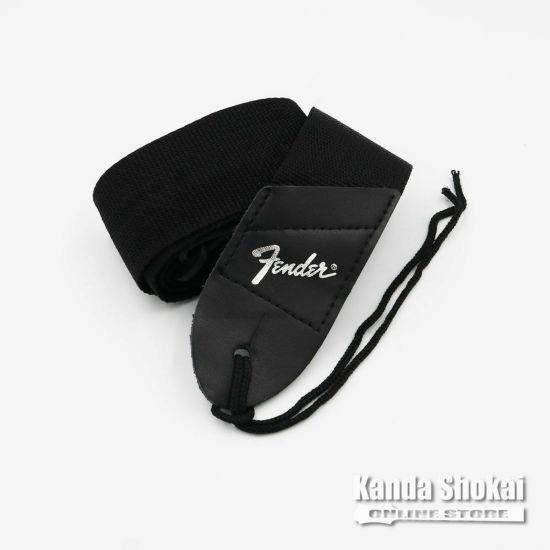 [Outlet] Fender Pick 'N' Strap, Black with Silver Logoの商品画像1