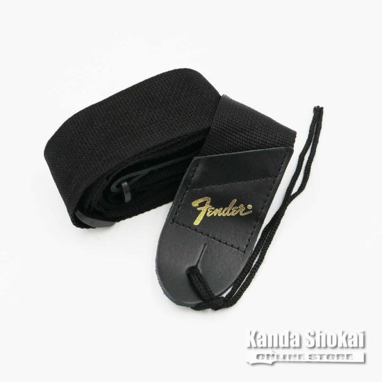 [Outlet] Fender Pick 'N' Strap, Black with Gold Logoの商品画像1