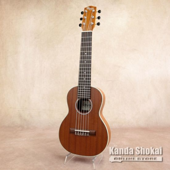Ohana Guitarlele, Tenor Body, Tenor Scale, Solid Mahogany Top, Mahogany Back & Sides TKGL-20の商品画像1