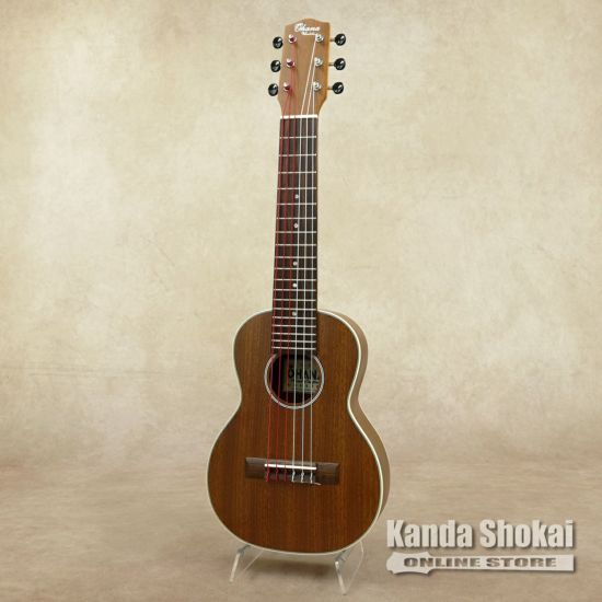 Ohana Micro Guitar, Tenor Body, Tenor Scale, Solid Mahogany Top, Mahogany Back & Sides TKG-20の商品画像1