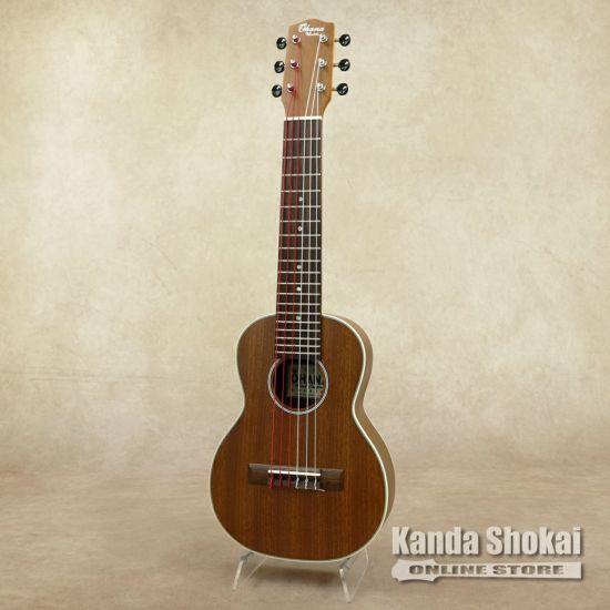 Ohana Micro Guitar, Tenor Body, Tenor Scale, Solid Mahogany Top, Mahogany Back & Sides TKG-20の商品画像1