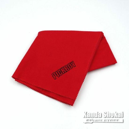Pick Boy CL-50/RE Polishing Cloth, Redの商品画像1