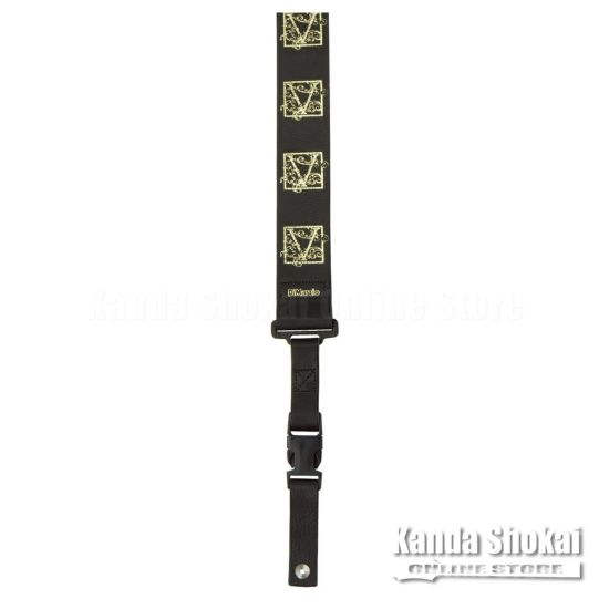 [Outlet] DiMarzio Steve Vai Signature Strap, DD2420SV, Goldの商品画像1