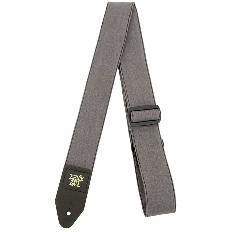 Ernie Ball Grey Denim Guitar Strap [#4057]の商品画像1