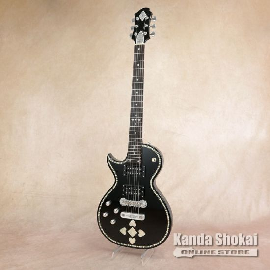 [Outlet] Zemaitis A24SU LH Black Pearl Heartの商品画像1