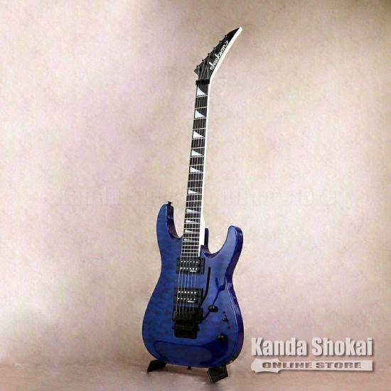Jackson JS Series Dinky Arch Top JS32Q DKA, Transparent Blue [S/N: CWJ2001215]の商品画像1