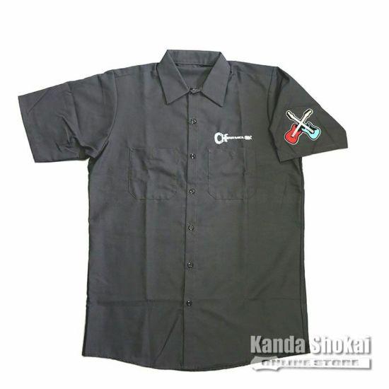 Charvel Patch Work Shirt, Gray, Largeの商品画像1