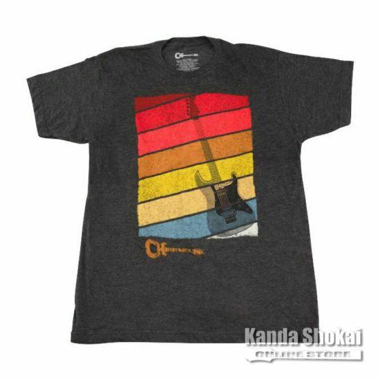 Charvel Sunset T-Shirt, Charcoal, Largeの商品画像1