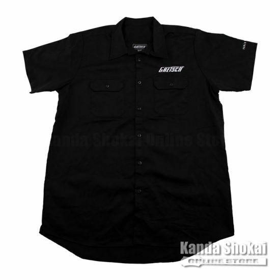 Gretsch Streamliner Workshirt, Black, Largeの商品画像1