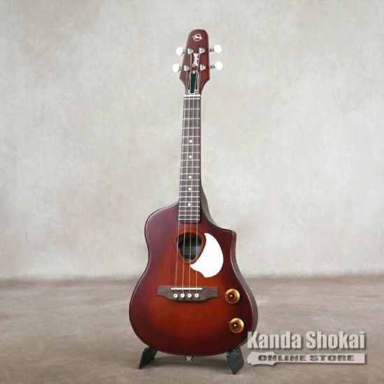 Seagull Ukulele Steel, Semi Gloss Burst EQの商品画像1
